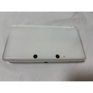 ニンテンドー3DS - 【動作確認済み】ニンテンドー3DS アイスホワイト