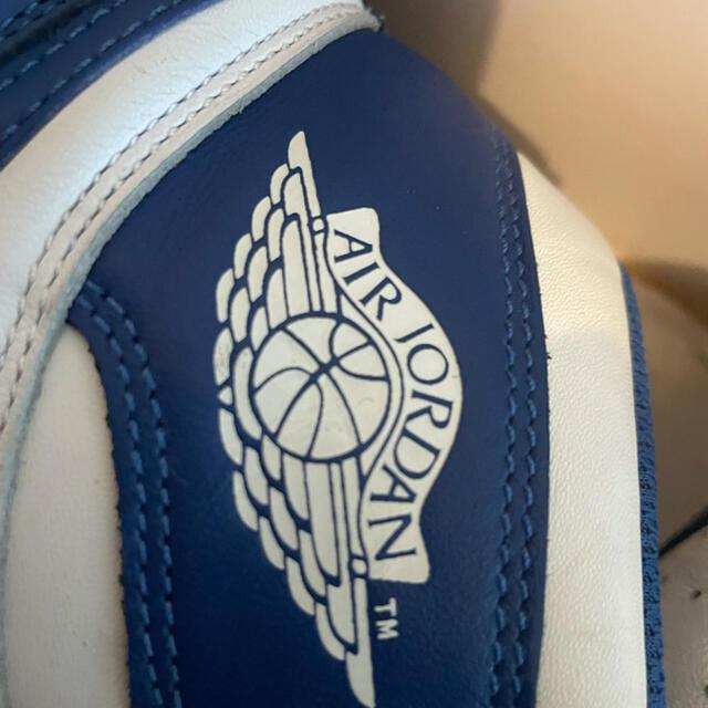 NIKE(ナイキ)のナイキ エアジョーダン1 ストームブルー 28cm メンズの靴/シューズ(スニーカー)の商品写真