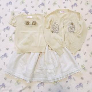 Shirley Temple - 459【120】シャーリーテンプル 子供服三点セット
