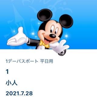 Disney - ディズニーランド 入園済みチケット 物販用