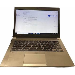 東芝 - 東芝軽量ノートパソコン SSD メモリ8GB  カメラ搭載