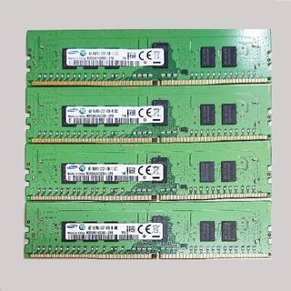 SAMSUNG - RDIMM DDR4-2133 16GB (4GBx4) Samsung v89