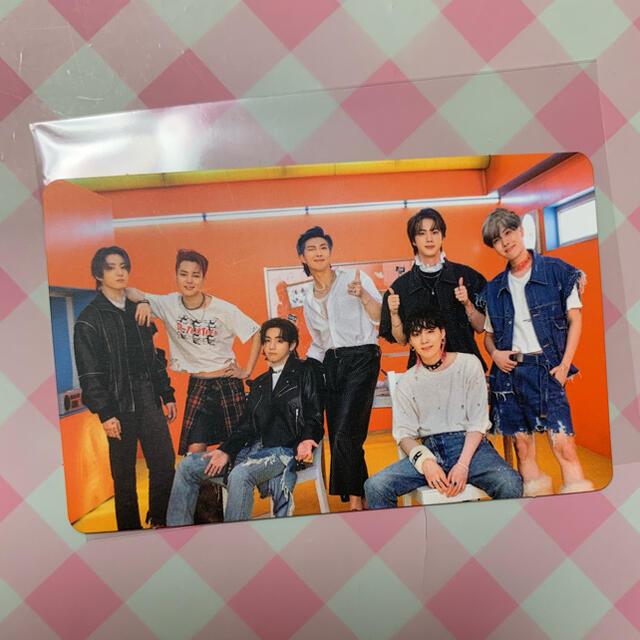 防弾少年団(BTS)(ボウダンショウネンダン)のBTS  防弾少年団 BUTTER  トレカ メンバー エンタメ/ホビーのCD(K-POP/アジア)の商品写真