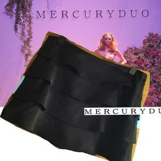 マーキュリーデュオ(MERCURYDUO)のMERCURYDUO♡綺麗フリルスカート(ミニスカート)