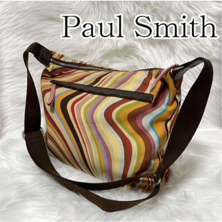 Paul Smith - ✨美品✨ ポールスミス ショルダーバッグ A4可 マルチカラー マーブル 大容量