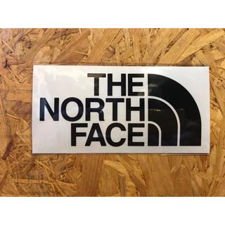 THE NORTH FACE - ノースフェイス カッティングステッカー 黒 正規品