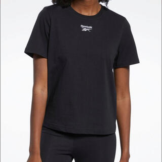 Reebok - 新品!Reebok クラシックス ロゴ Tシャツ  ブラック Lサイズ