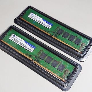 メモリ TEAM 16GB (8GBx2) DDR4-2400 v95
