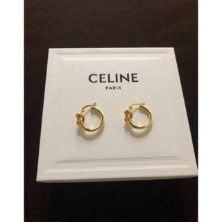 celine - 最終値下げ 【CELINE】ノット スモールフープ ピアス