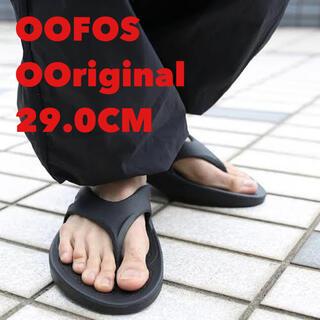 KEEN - OOFOS ウーフォス OOriginal 29 BLACK ブラック 黒