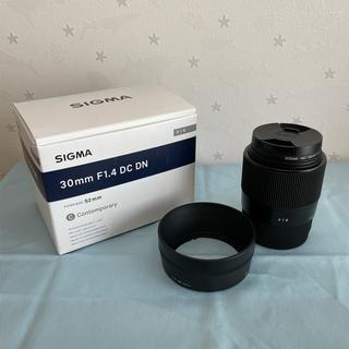 SIGMA -  超美品 SIGMA 30mm F1.4 DC DN SONY Eマウント
