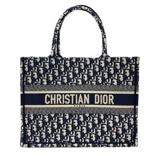 ディオール(Dior)のディオール トロッター オブリーク スモール ブックトート トートバッグ(トートバッグ)