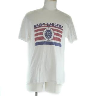 サンローラン(Saint Laurent)のサンローランパリ      コットン        メンズ  半袖(Tシャツ/カットソー(半袖/袖なし))