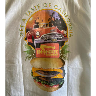 STUSSY - in-n-out  burger ビッグTシャツ