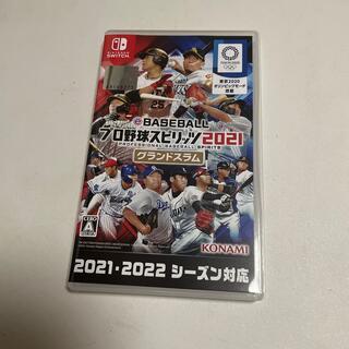 KONAMI - 【美品】eBASEBALL プロ野球スピリッツ2021 プロスピ2021