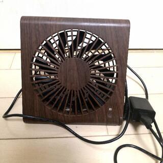 ドウシシャ(ドウシシャ)のスリムコンパクトファン【ドウシシャ】卓上ファン(2018年製)(扇風機)