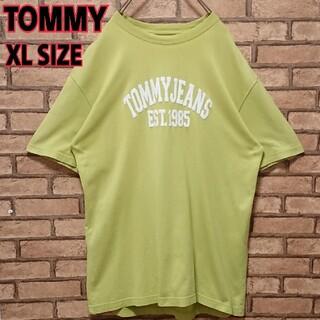 トミー(TOMMY)のTOMMY トミー フロント ロゴ アースカラー メンズ 半袖 Tシャツ(Tシャツ/カットソー(半袖/袖なし))