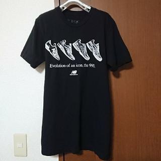 New Balance - new balanceニューバランス Tシャツ ブラック  美品 クーポン消化