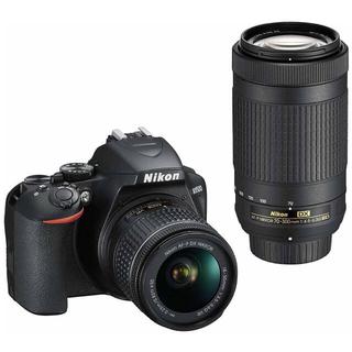 Nikon - 新品 Nikon 一眼レフカメラ D3500 ダブルズームキット ブラックニコン