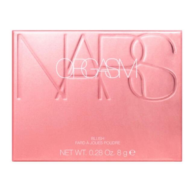 NARS(ナーズ)の【限定品】NARS ORGASM  ナーズ オーガズム チーク 5194 コスメ/美容のベースメイク/化粧品(チーク)の商品写真