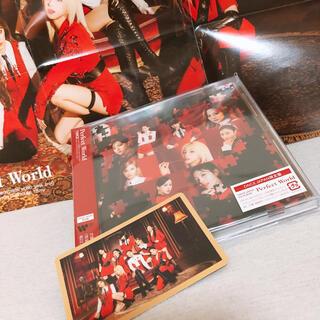 ウェストトゥワイス(Waste(twice))のTWICE 「Perfect World」oncejapan限定盤(K-POP/アジア)