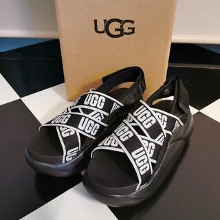 UGG - 新品 UGG LA CLOUD SANDAL 24 スポーツサンダル ブラック