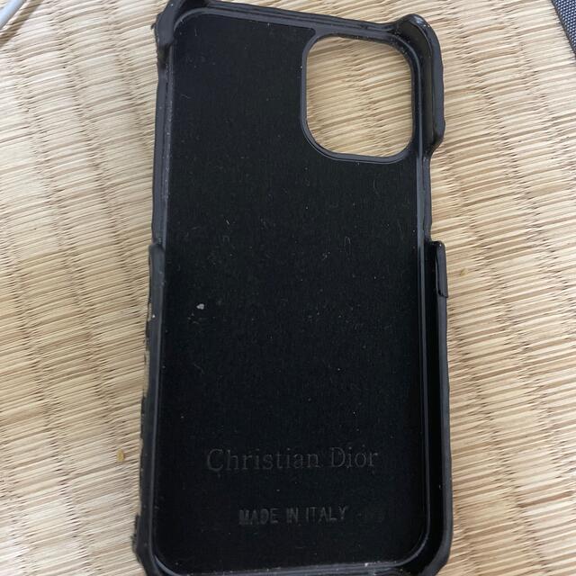 Christian Dior(クリスチャンディオール)のクリスチャンデイオルiphone 12 mini ケース スマホ/家電/カメラのスマホアクセサリー(iPhoneケース)の商品写真