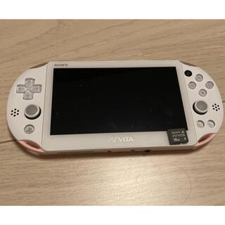 PS Vita 2000 ピンク 本体 メモリーカード付