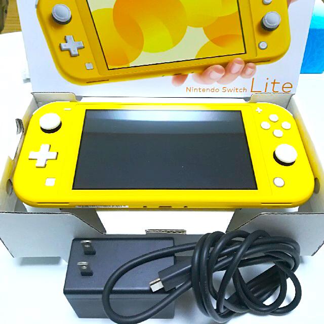 Nintendo Switch(ニンテンドースイッチ)の任天堂 switch lite スイッチ ライト 本体 イエロー エンタメ/ホビーのゲームソフト/ゲーム機本体(携帯用ゲーム機本体)の商品写真