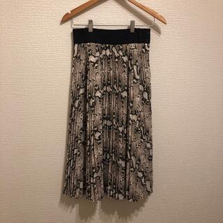 HYKE - HYKE プリーツスカート