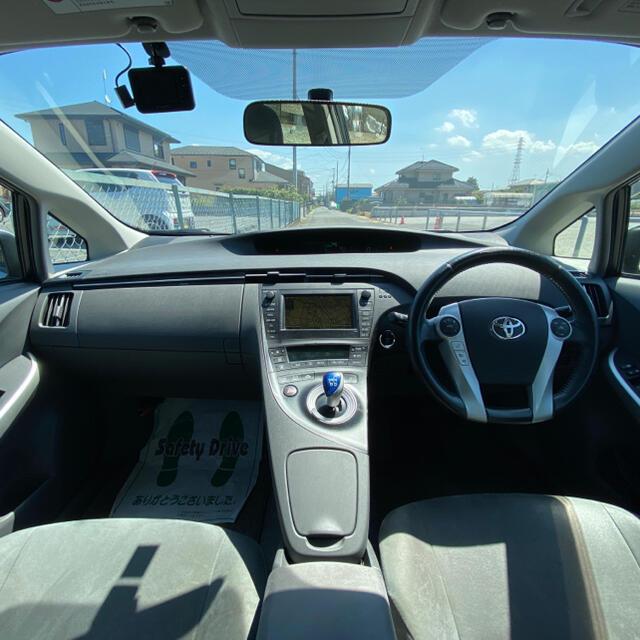 トヨタ(トヨタ)の車検令和5年1月 BT トヨタ プリウス 上級グレード ハイブリッド 自動車/バイクの自動車(車体)の商品写真