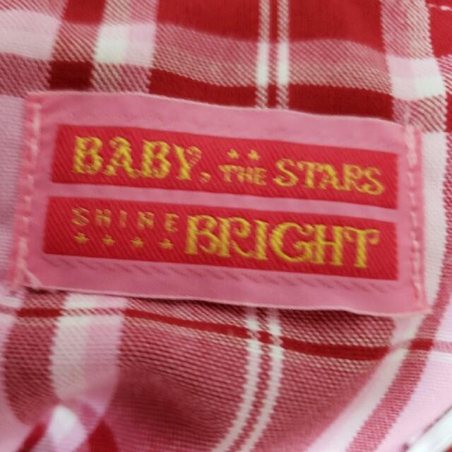 BABY,THE STARS SHINE BRIGHT(ベイビーザスターズシャインブライト)の〈LOVEさん専用〉BABY ジャンパースカート チェック レディースのワンピース(ひざ丈ワンピース)の商品写真