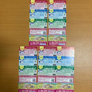 サンリオ(サンリオ)のサンリオピューロランド割引券 5枚(遊園地/テーマパーク)