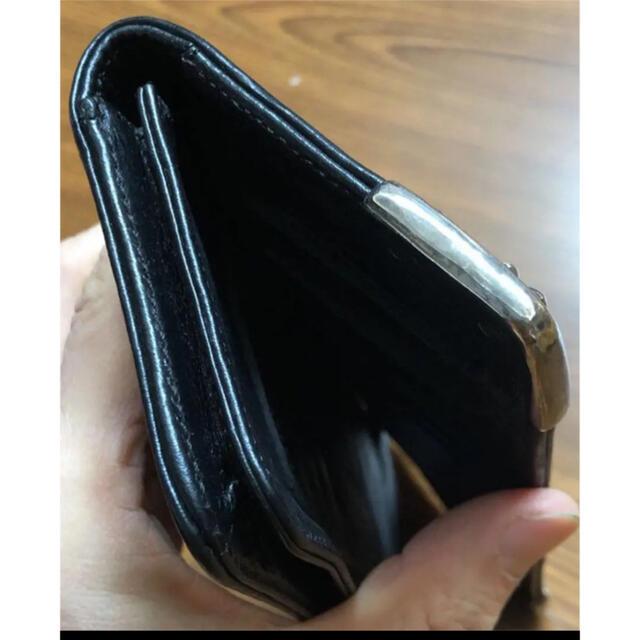 Chrome Hearts(クロムハーツ)の最終値下げ クロムハーツ シングルフォールド 超美品 メンズのファッション小物(長財布)の商品写真