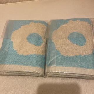 marimekko - マリメッコ marimekko ミニタオル ウニッコ unikko ブルー 2枚