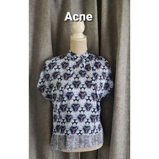 アクネ(ACNE)の未使用品レベル ACNE   超絶お洒落なブラウス(シャツ/ブラウス(半袖/袖なし))