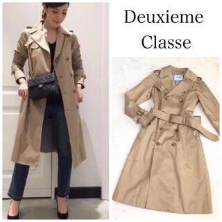 ドゥーズィエムクラス(DEUXIEME CLASSE)のドゥーズィエムクラス   定番人気 ギャバトレンチコート(トレンチコート)