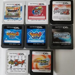 ニンテンドーDS - DS 3DSソフト 8本超お得セット