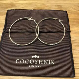 ココシュニック(COCOSHNIK)のココシュニック フープピアス(ピアス)