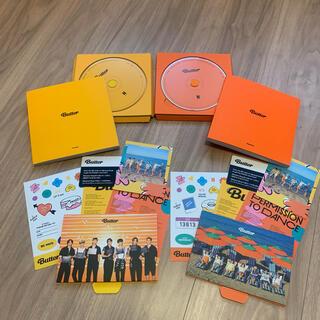防弾少年団(BTS) - ⑤BTS Butter 2形態 Cream Peaches セット CD 箱なし