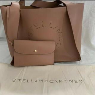 Stella McCartney - 大人気★ハンドバッグ ママバッグ ピンクベージュステラマッカートニー ロゴトート
