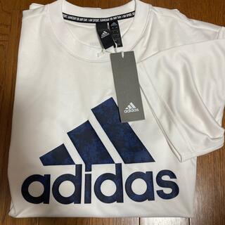 アディダス(adidas)の☆新品:アディダスドライTシャツLサイズ(Tシャツ/カットソー(半袖/袖なし))