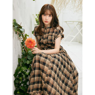 【新品】Cotton-Blend Voile Shirt Dress