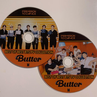 防弾少年団(BTS) - BTS DVD  BEST PV&TV permission to dance