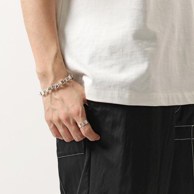 Jil Sander(ジルサンダー)の新品正規品 JIL SANDER 21SS ジオメトリー チェーン ブレスレット メンズのアクセサリー(ブレスレット)の商品写真