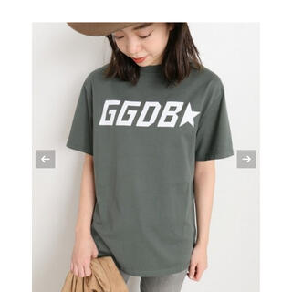 DEUXIEME CLASSE - Deuxime Classes ゴールデングースロゴTシャツ