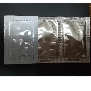 アディクション(ADDICTION)の【サンプル】ADDICTION 化粧下地、ファンデーション(サンプル/トライアルキット)