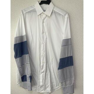 ロエベ(LOEWE)のロエベ LOEWE シャツ 袖 ストライプ サイズ39 M相当 JWアンダーソン(シャツ)