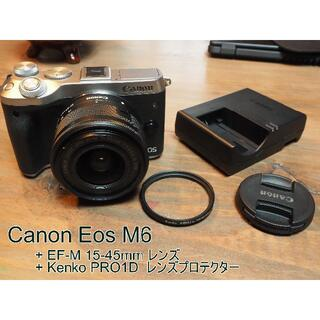 Canon - キャノン / CANON EOS M6 レンズセット + レンズフィルタ
