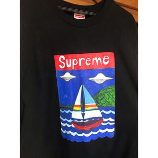 Supreme - supreme sailboat tee 美品